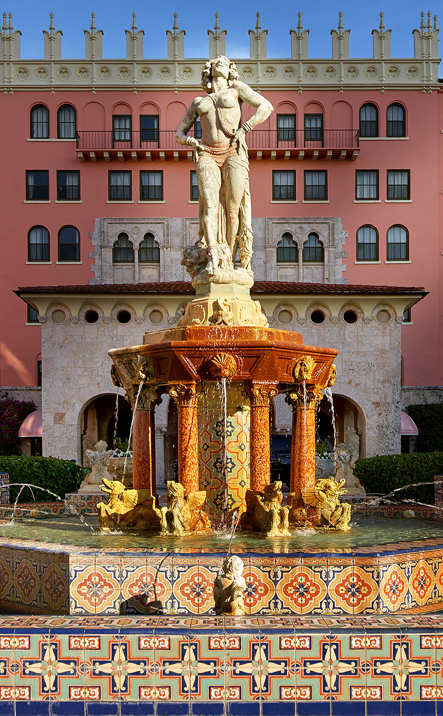Boca-Raton-Resort-Sculplture-Florida-Architecture