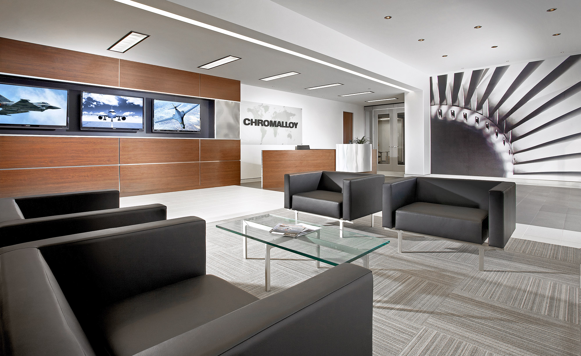 Chromalloy-Lobby-Aeronautical-Manufacturer-Commercial-Design-Photography