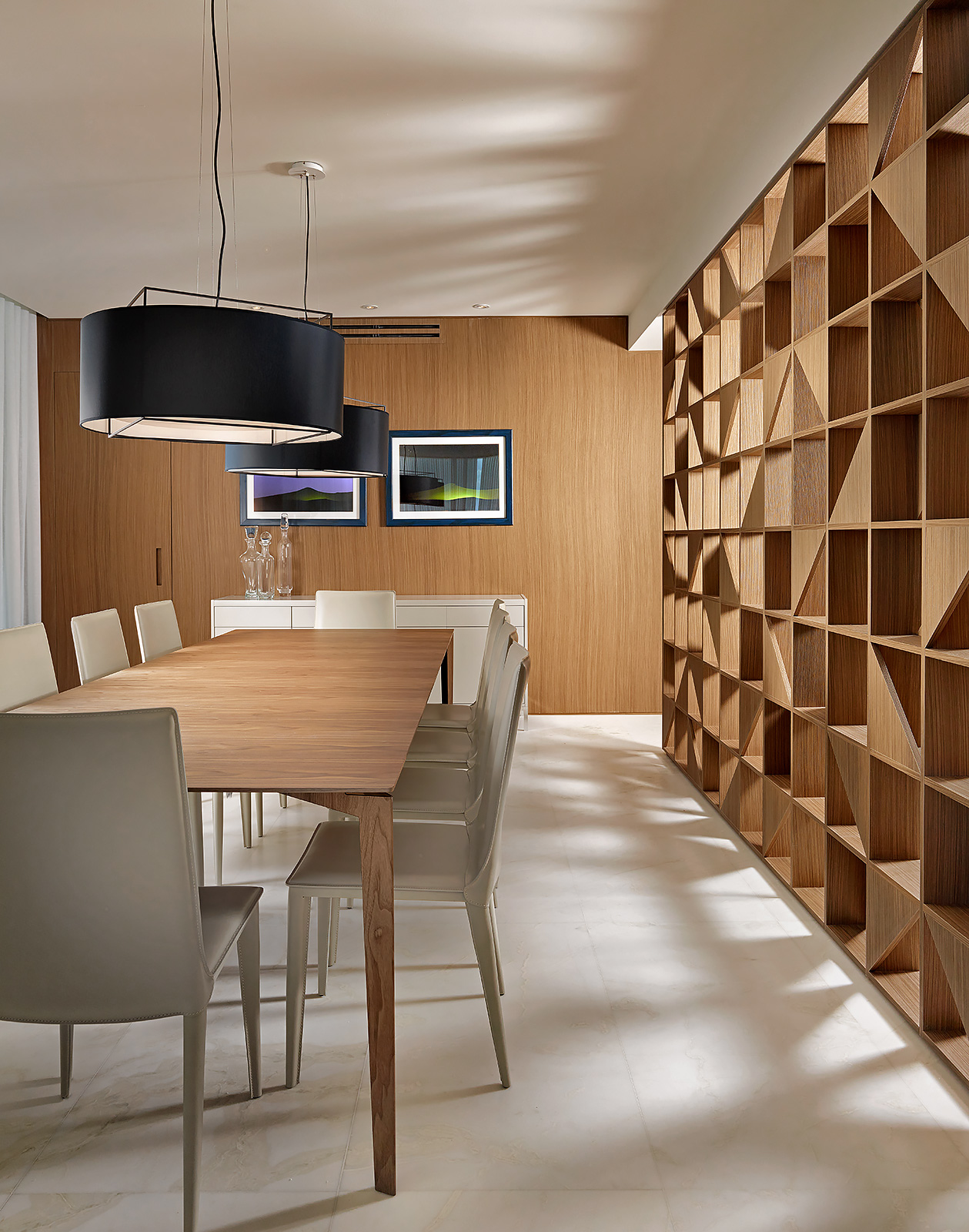 Dining-Wood-Partition-Custom-Interior-Design