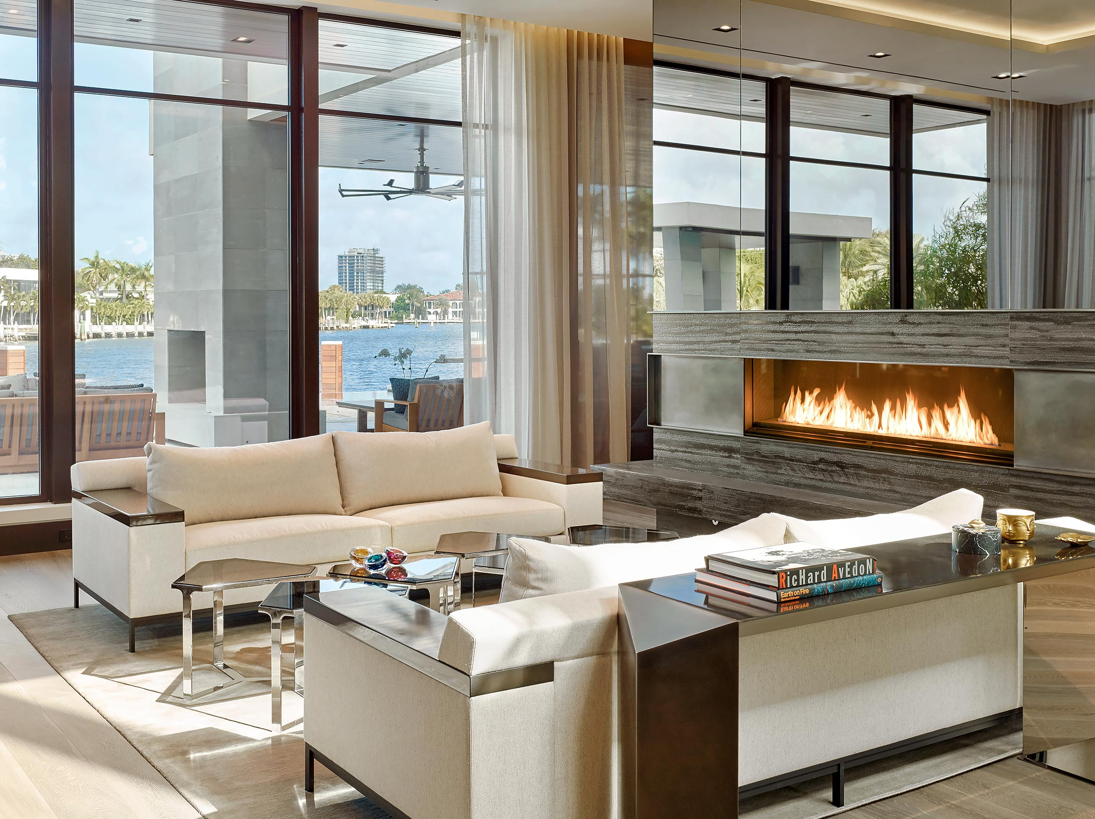 Family-Room-Fireplace-Interior-Fort-Lauderdale