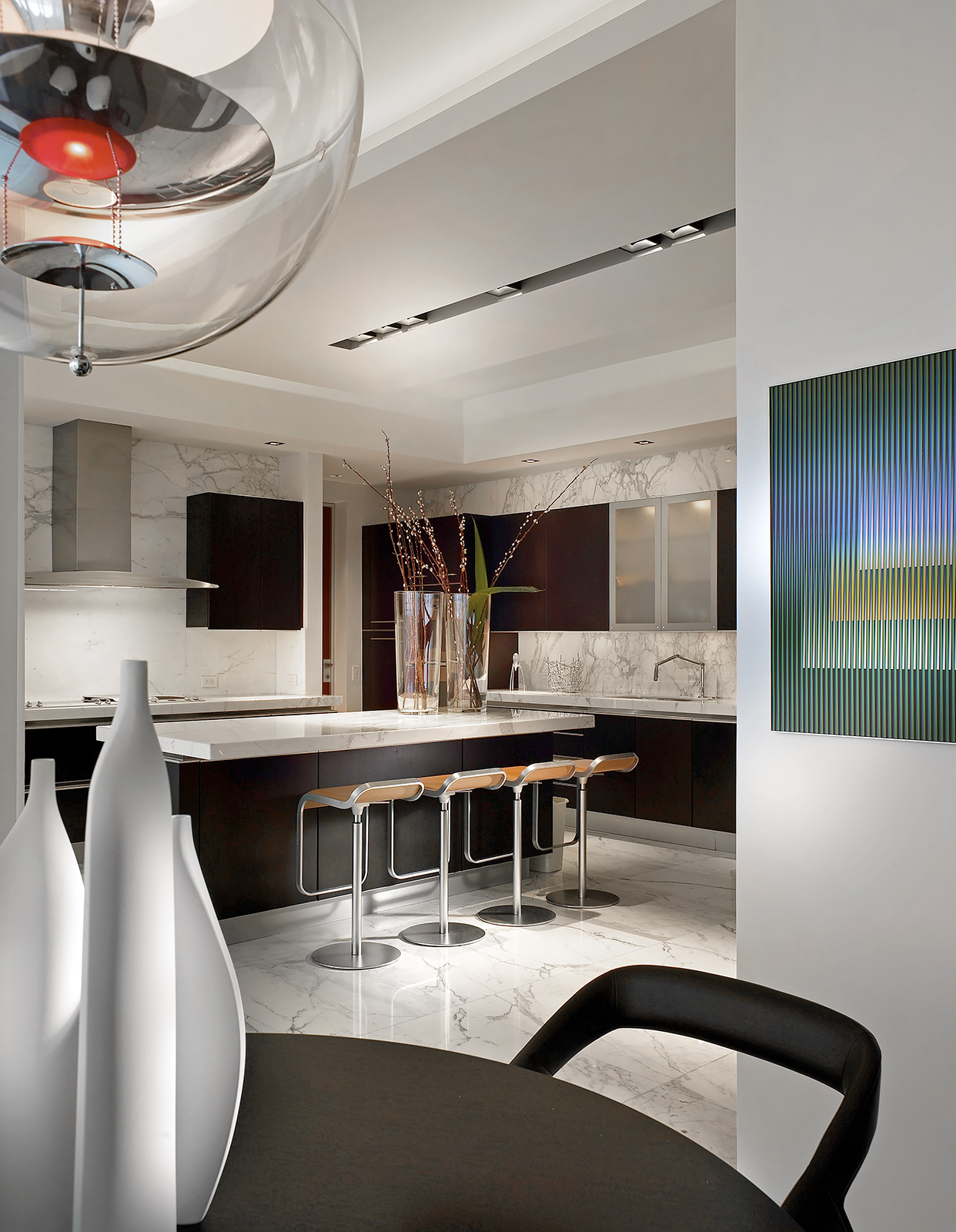 Fisher-Island-Living-Modern-Kitchen