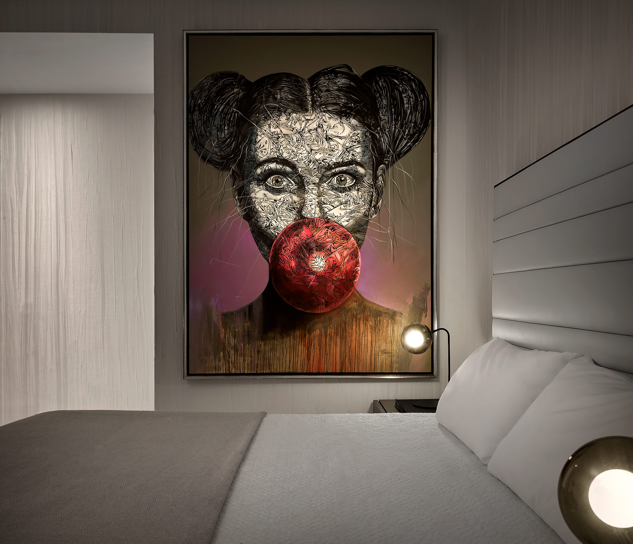 Interior-Decor-Bedroom-Detail-Pop-Art