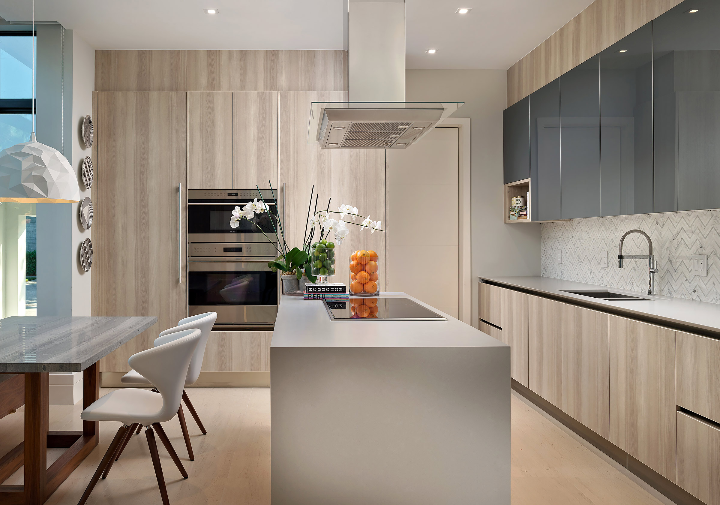 Key-Biscayne-Contemporary-Kitchen-Residential-Real-Estate-Photography