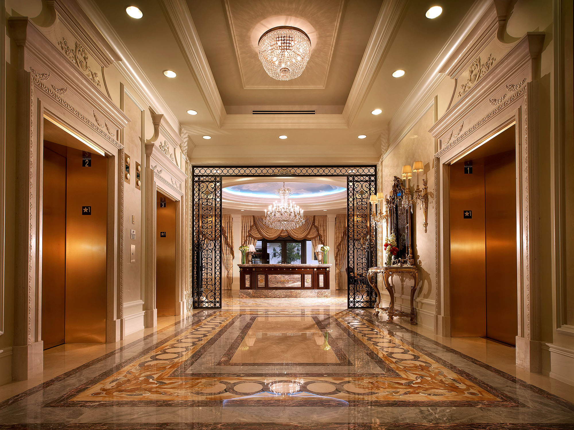 Luxury-Real-Estate-Photography-Elevator-Lobby-Coral-Gables