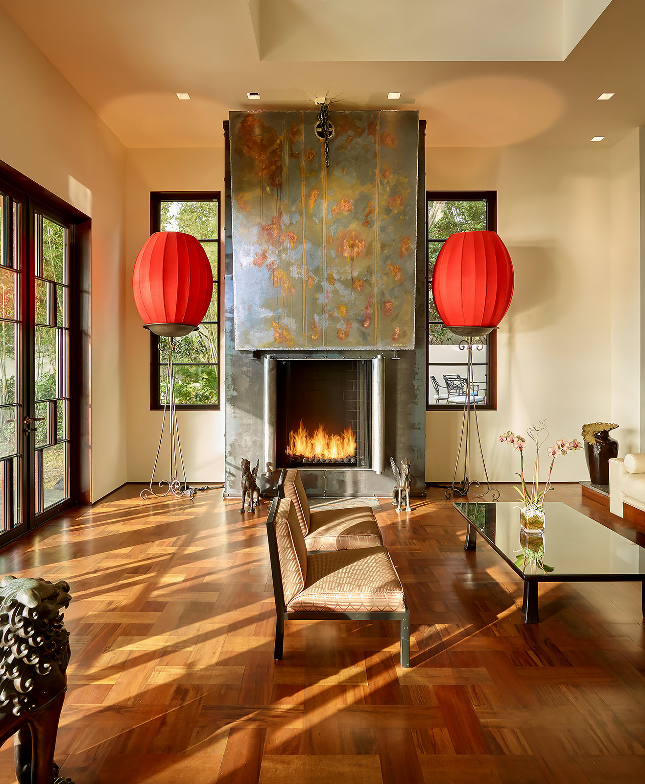 Luxury-Real-Estate-Photography-Living-Fireplace