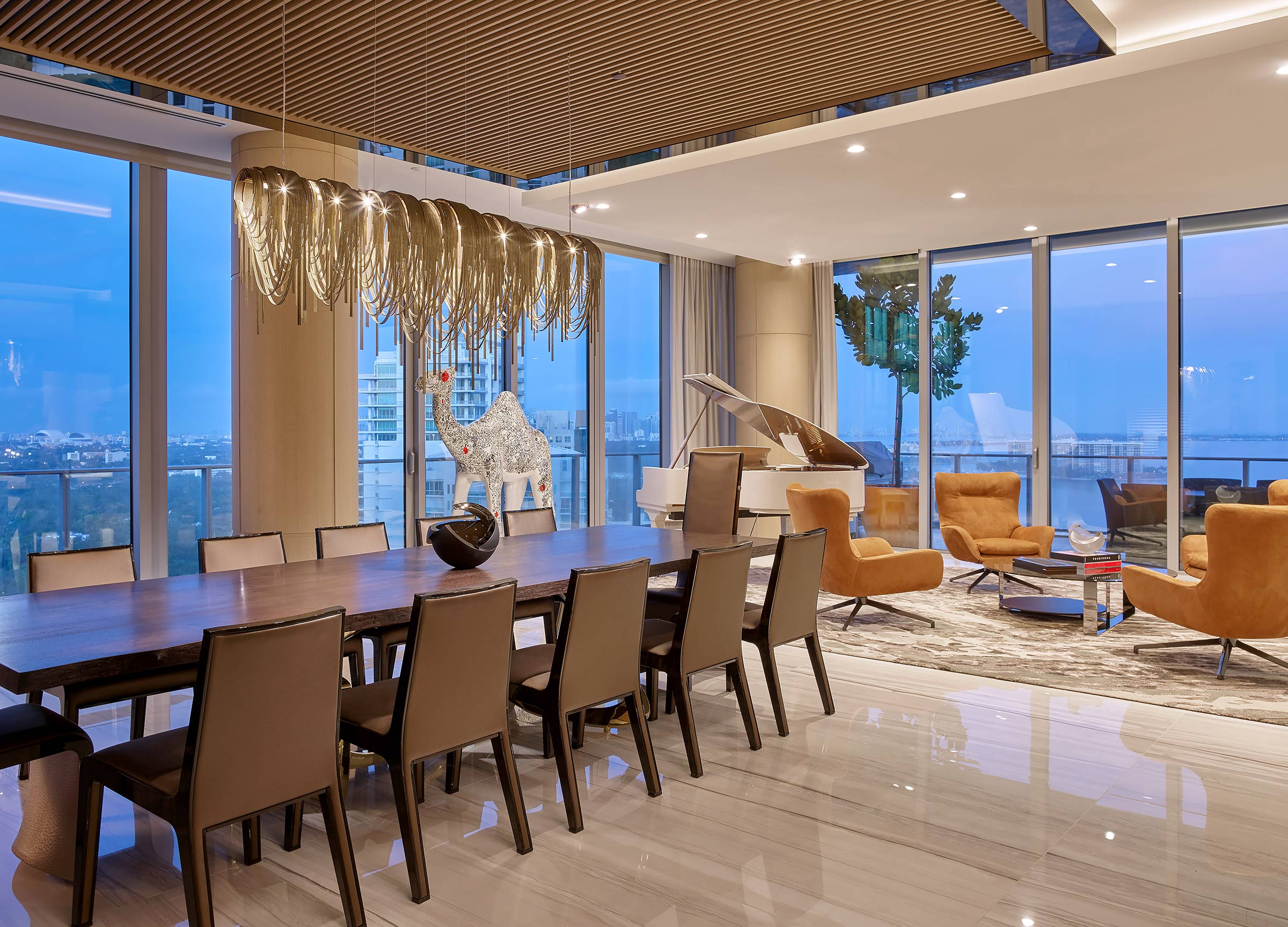 Miami-Private-Residence-Dining-Piano-Steven-G