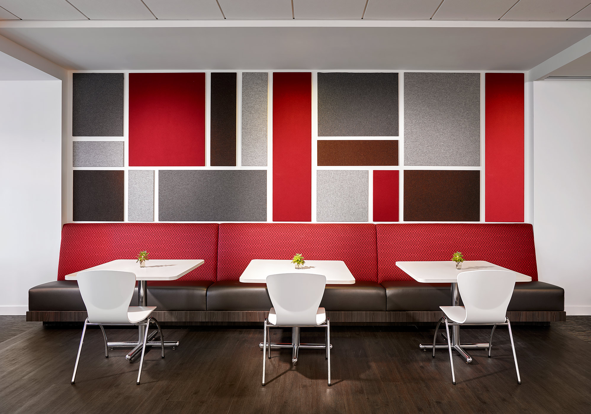 Modern-Office-Dining-Room-Mondrian-Design-Wall-Covering