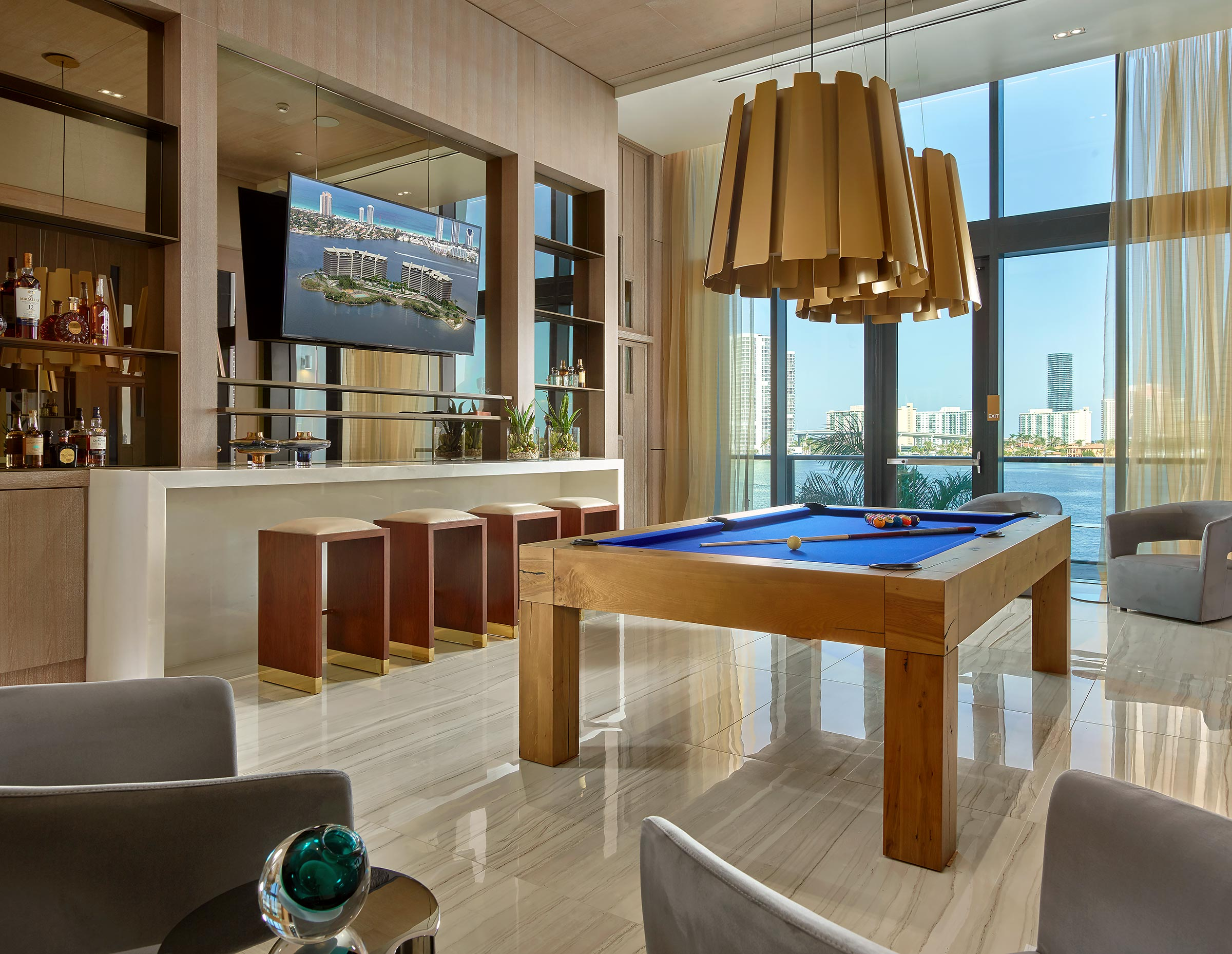 Prive-Condominium-Aventura-Florida-Billiard-Room