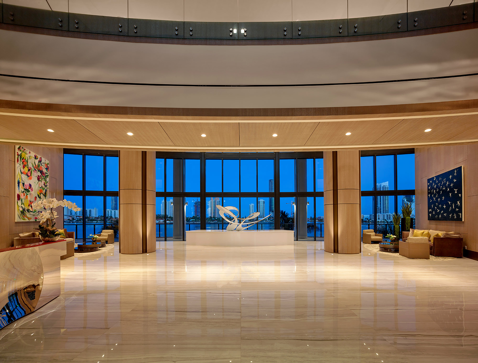 Prive-Lobby-5000-Island-Estates-Aventura-Florida