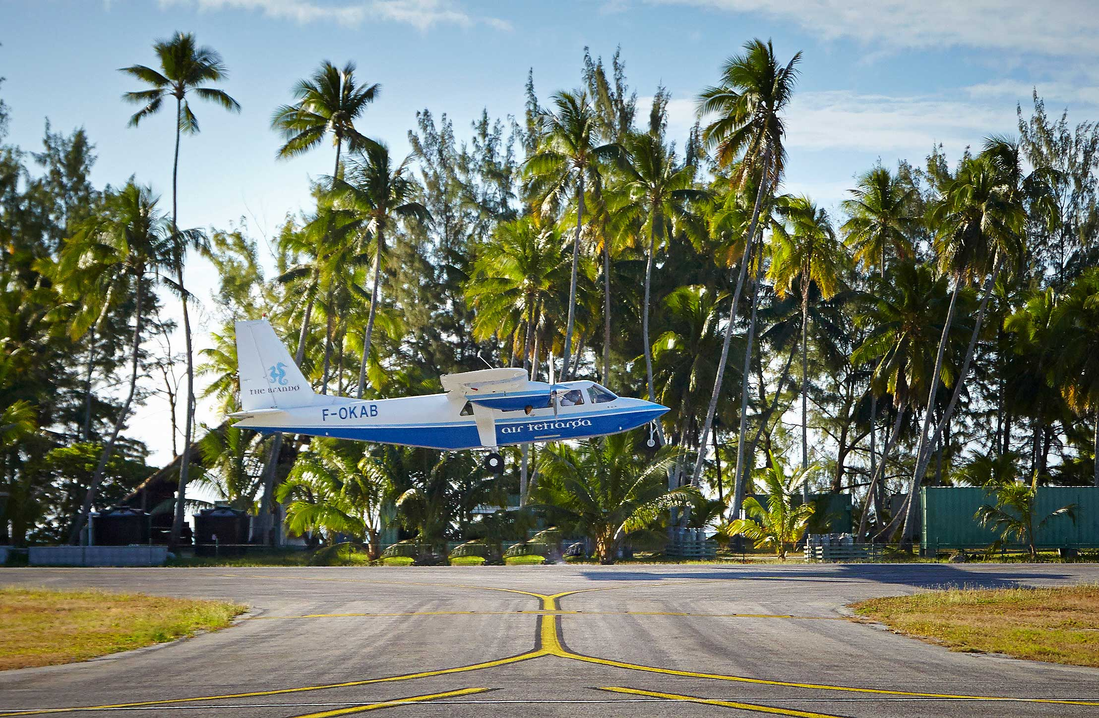The-Brando-Resort-Plane-Flying