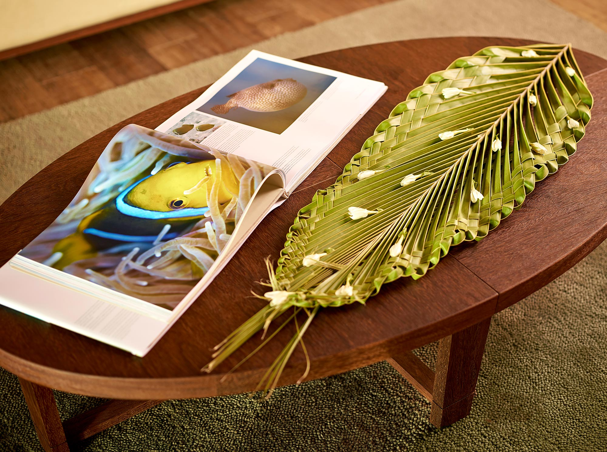 The-Brando-Resort-Table-Palm-Frond