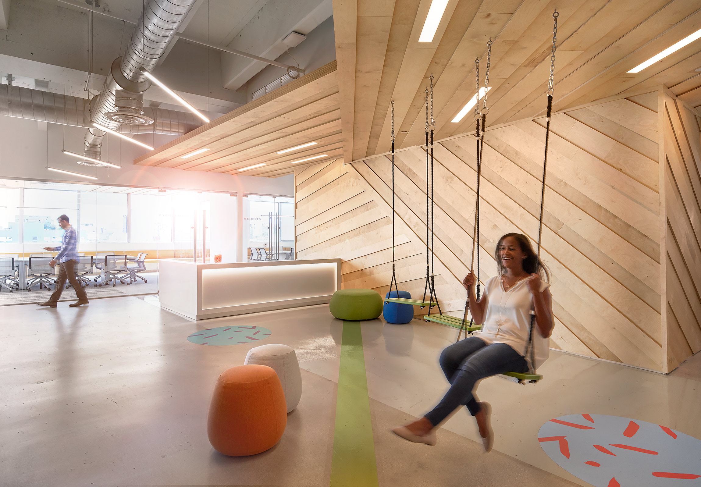 Wix-Miami-Corporate-Office-Reception-Swing